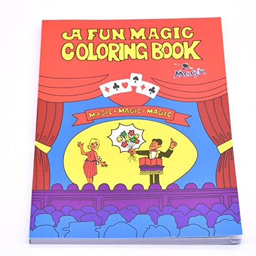 Doowops A Fun Magic Coloring Book - Small Size(5-1/2 4-1/8) Magic ...