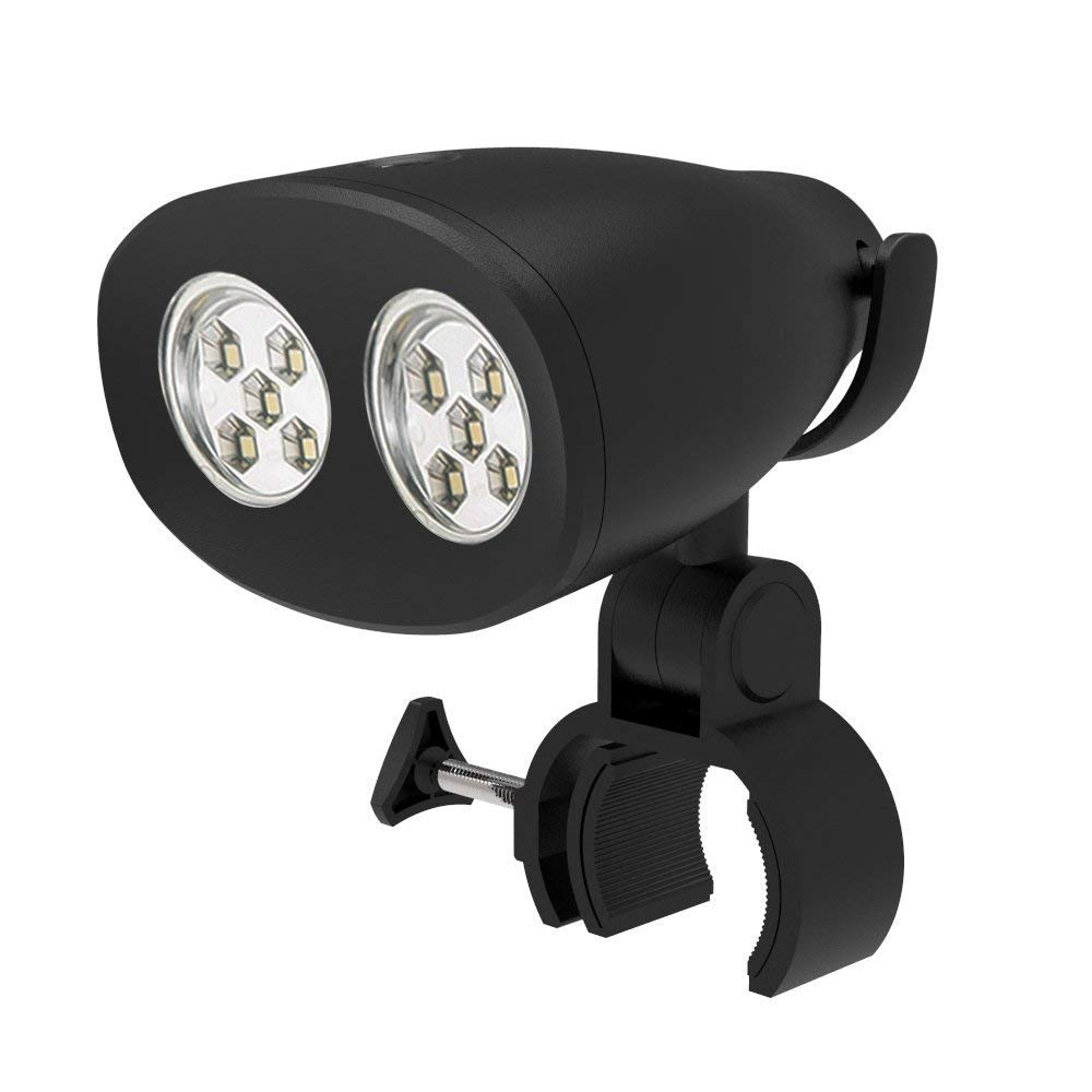LS BBQ Grill Light Ultra Bright Barbecue Lighting with 10 Bright LEDs Weather Resistant Heat Resistant for Gas Charcoal Grill Black by LS