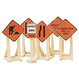 Lionel Orange Construction Zone Signs