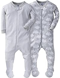 Baby Boys' 2 Pack Footed Sleeper