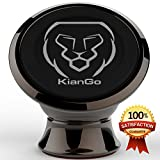 KianGo High Quality Cell Phone Holder for Car, Drive Safely with Magnetic Car Mount, Universal Car Phone Holder for GPS and all Smartphones