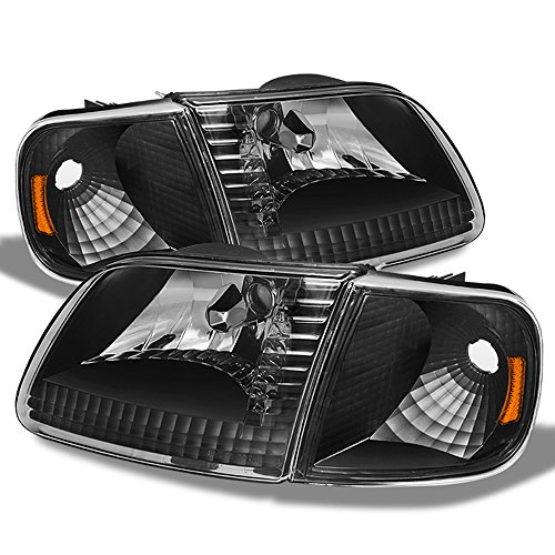 01 f150 black headlights - 8