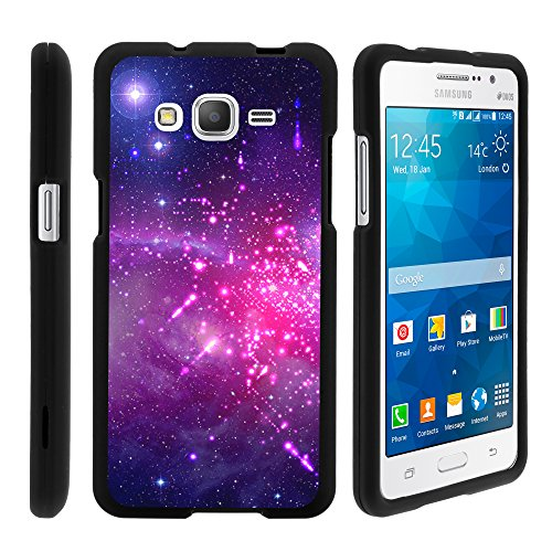 Samsung Galaxy Grand Prime Case, Slim Fit Snap On Cover with Unique, Customized Design for Samsung Galaxy Grand Prime SM-G530H, SM-G530F (Cricket) from MINITURTLE   Includes Clear Screen Protector and
