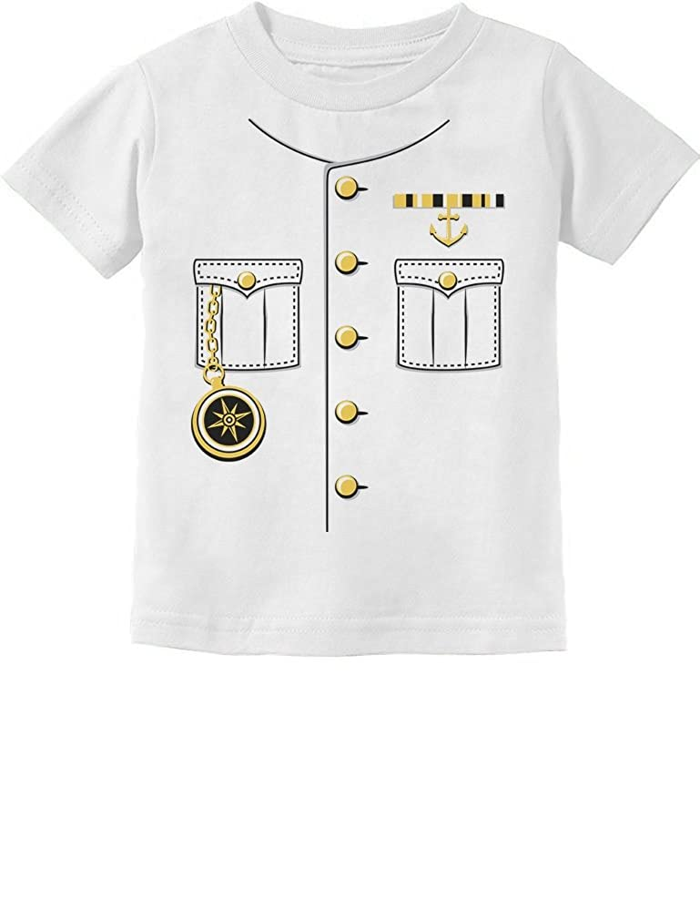 Ship Captain Halloween Costume Outfit Suit Toddler//Infant Kids T-Shirt