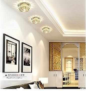LED Kristall-Licht Lampe Korridor Lampe Wohnzimmer Decke ...