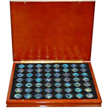 Complete Set of 56 Colorized State Quarters (1999-09)