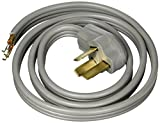 Certified Appliance Accessories 3-Wire Open-Eyelet 40-Amp Range Cord, 5ft