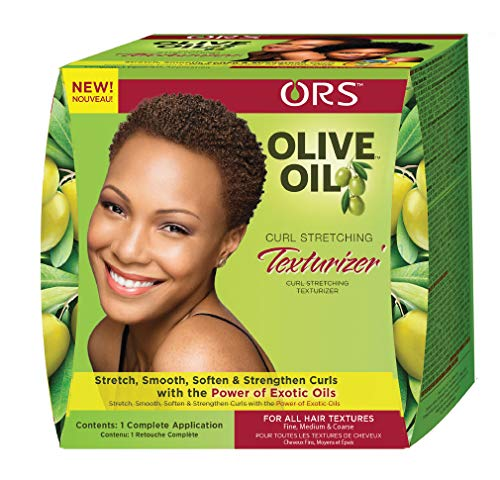 Organic Root Stimulator Olive Oil Curl Stretching Texturizer, Fine/Medium/Coarse