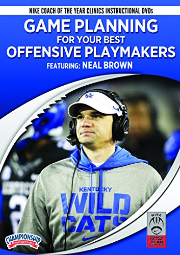 Neal Brown: Game Planning for Your Best Offensive Playmakers (Best Football Coaching Dvds)