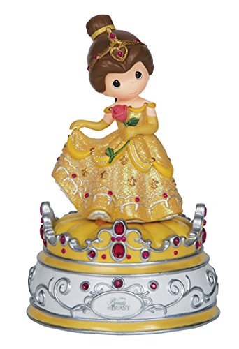 (Precious Moments, Disney Showcase Collection, Beauty And The Beast, Resin Music Box,)