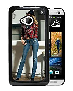 New Custom Designed Cover Case For HTC ONE M7 With Candice Swanepoel Girl Mobile Wallpaper.jpg