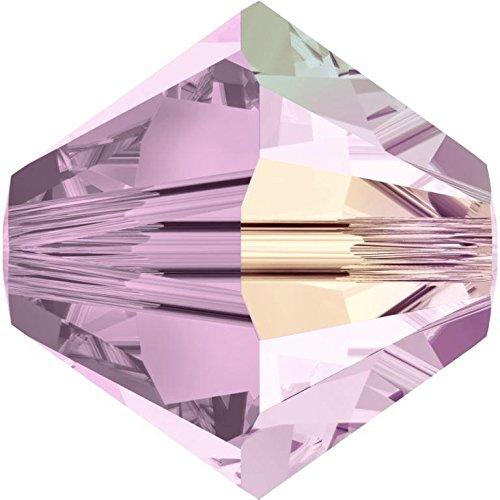 SWAROVSKI Crystal Xilion Bicones/Beads 5328 6mm ROSE Pack of 20 Wholesale Genuine Supplied by SWAROVSKI RETAILER ()
