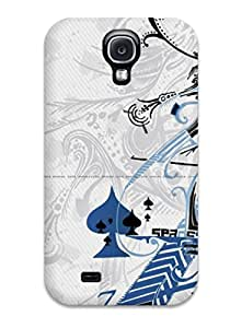 Protective Tpu Case With Fashion Design For Galaxy S4 (vector Art )