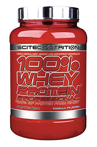 Scitec Nutrition Whey Protein Professional proteína vainilla 920 g: Amazon.es: Salud y cuidado personal