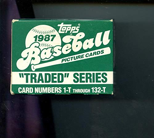 1987 Topps Traded Baseball Complete Box set Greg Maddux Rookie Card READ DESCRIPTION ()