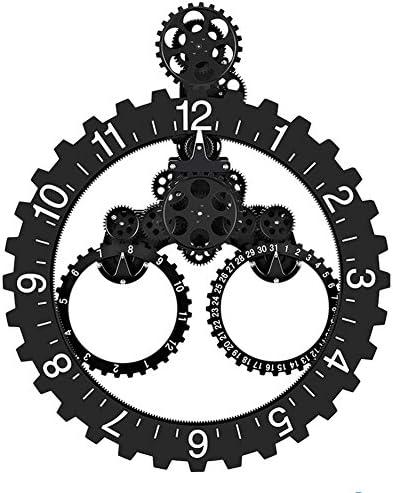 SevenUp Gear Clock Wall-Premium Plastic and Metal Parts Material