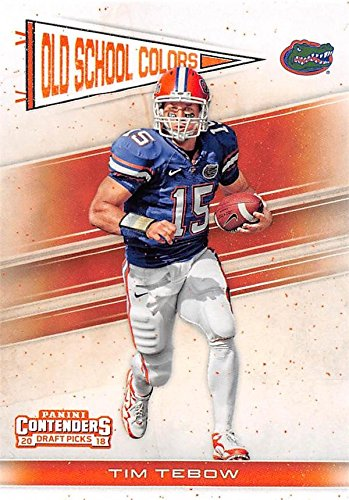 online store 1a4a5 77fa4 Tim Tebow football card (Florida Gators) 2018 Panini Old ...