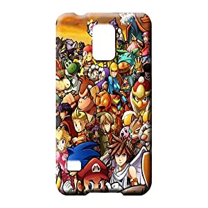 samsung galaxy s5 Classic shell New Arrival pattern cell phone carrying skins super smash bros wii