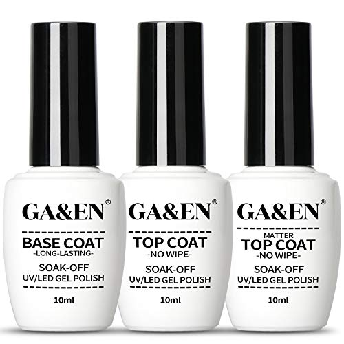 No Wipe Matte/Mirror Top Coat Base Coat UV/LED Lamp Dry Needed Gel Quick Dry Long Lasting Gloss Mirror Clear Resin Gel Polish Glue Nail Art For Home And Salon Use