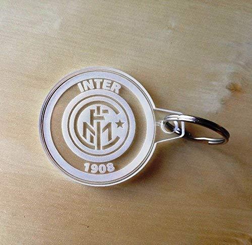 PORTACHIAVE Squadra INTER logo portachiavi Calcio Idea Regalo gadget bomboniera