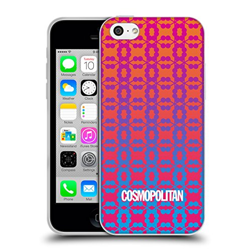 Official Cosmopolitan Ombre 9 Fun Summer Soft Gel Case for Apple iPhone 5c