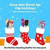 Wet Brush Original Detangler Hair Brush with Soft IntelliFlex Bristles, Detangler for All Hair Types - 2 Count (Pink and Purple)
