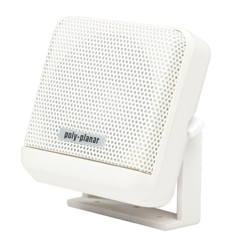(Poly-Planar VHF Extension Speaker -10W Surface Mount - (Each)White)