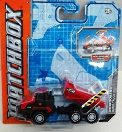 Matchbox Real Working Rigs - JCB Articulated Dump Truck (Red/Black) -