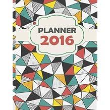 Planner 2016: Planner Beautiful Design Useful Function