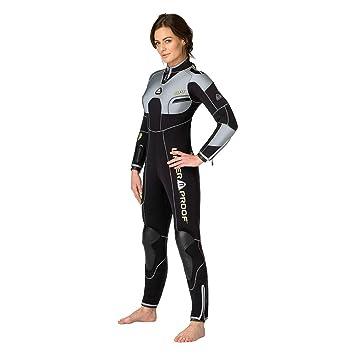 Waterproof W4 7 mm Mujer semiseco Traje de Buceo Completo ...