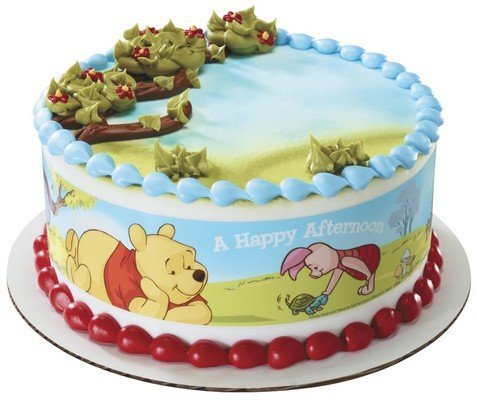 (Winnie the Pooh Edible Cake Border Decoration)