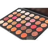 DE'LANCI 35 Colors Eyeshadow Makeup Palette Shimmer Multi-colors Eye Shadow Kit ( 35F )