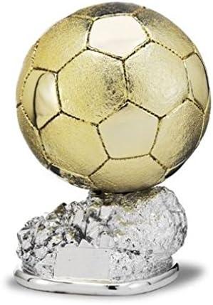 Trofeo Replica Balón de Oro Cristiano Ronaldo 29cm Resina Grabado ...