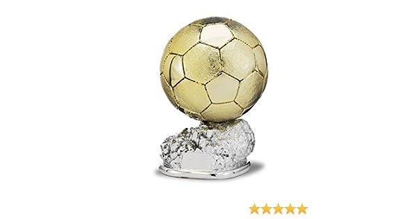 Trofeo Replica Balón de Oro 24cm Resina GRABADO Trofesport Trofeos ...