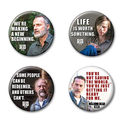 Ata-Boy The Walking Dead Season 9 Assortment #2 Set of 4 1.25