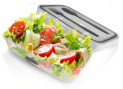 Airtight Plastic Container Cutlery Leak Proof product image