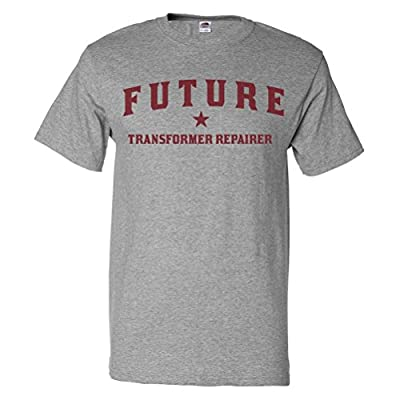 ShirtScope Future Transformer Repairer T shirt Funny Transformer Repairer Tee