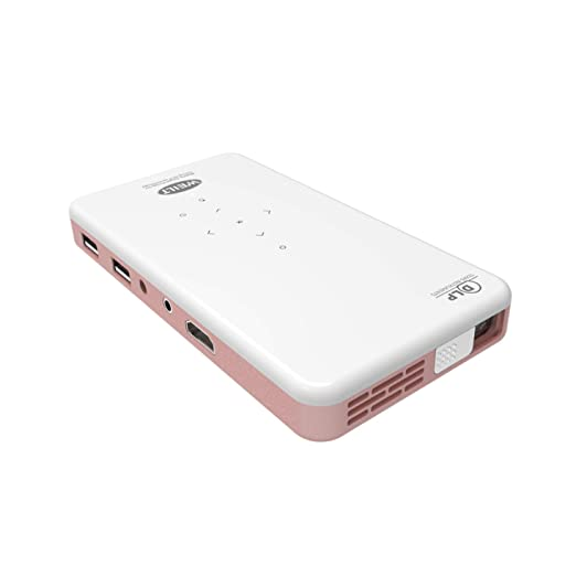 Qucking Light Proyector Portátil, Proyector 1080P Proyectores Pico ...