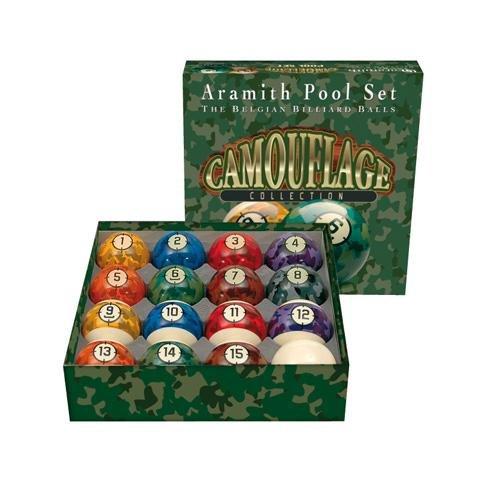 Aramith - Billes Américaines Aramith Camouflage 57 mm