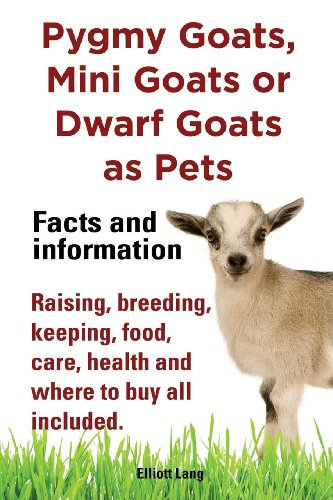 Mouse Care (Pygmy Goats as Pets. Pygmy Goats, Mini Goats or Dwarf Goats: Facts and Information. Raising, Breeding, Keeping, Milking, Food, Care, Health and Where)