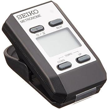 Seiko DM51SClip-On Metronome - Silver