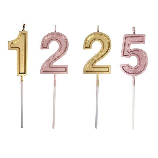 Fewear - Decoración para Tarta de Boda, número 1225, número ...
