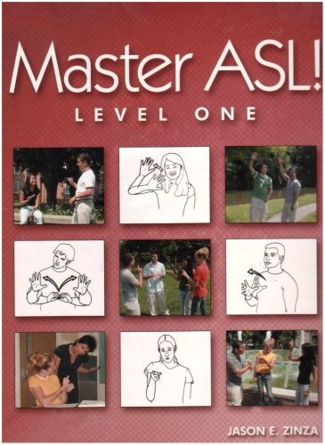 Asl Sign Love - Master ASL - Level One (with DVD)