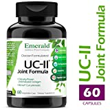 UC-II Joint Formula – w/ Meriva® Phytosome & Bioperine – Supports Joint & Cartilage Repair, Collagen Growth, & Reduce Pain & Inflammation – Emerald Laboratories (Ultra Botanicals) – 60 Veg Capsules
