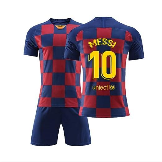 Camiseta de fútbol Lionel Leo Messi Barcelona Barcelona Home ...
