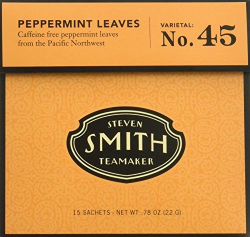(Steven Smith Teamaker - Herbal Infusions Tea Peppermint Leaves No. 45 - 15 Tea Bags Net WT .78 oz)