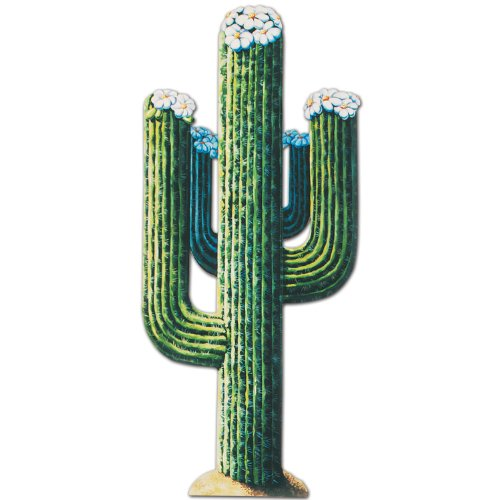 Beistle 55277 Jointed Cactus 4Feet 3Inch