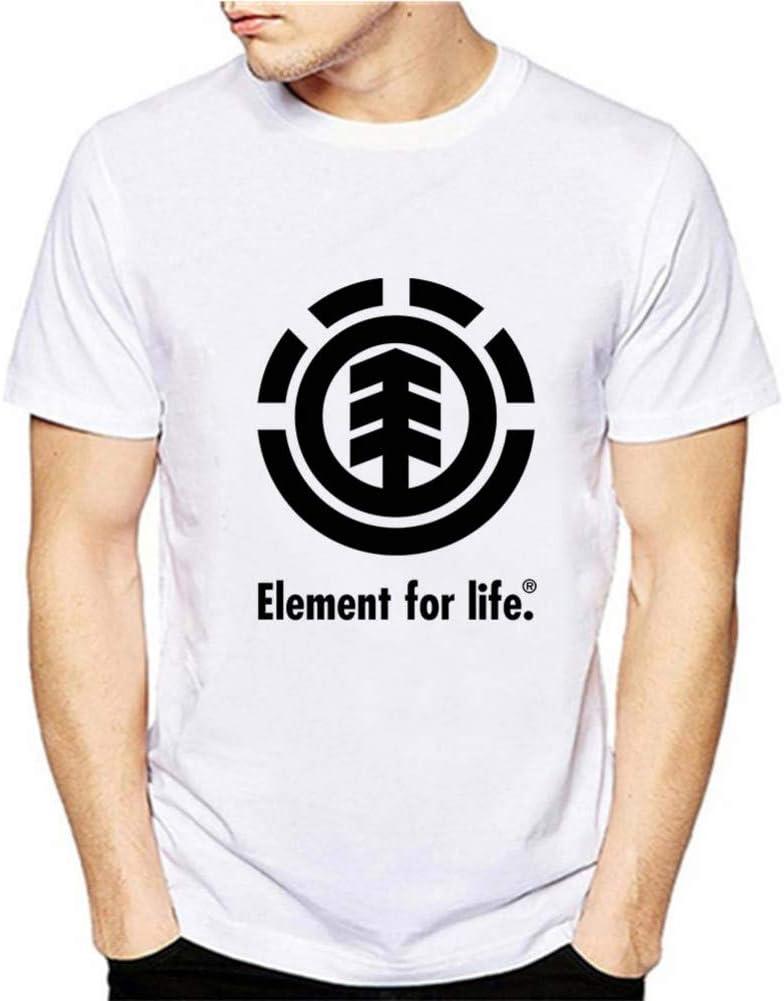 GKKYU Elemento de Sorpresa Tabla periódica Empollón Friki Ciencia Camiseta para Hombre Ocio Harajuku Divertido Manga Corta Ropa Masculina: Amazon.es: Deportes y aire libre