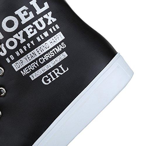 Lacets Uréthane Fermé Bottes Des Confort Noir Mou Femmes Orteil De Ladola sol vtO8xww