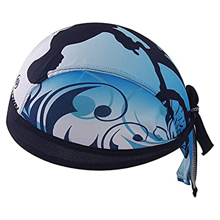 HYSENM Outdoor Sunscreen Cycling Bandana Sports Headwear Beanie Hat Headband Quick Dry Under Helmet for Men Unisex, ZZ-1